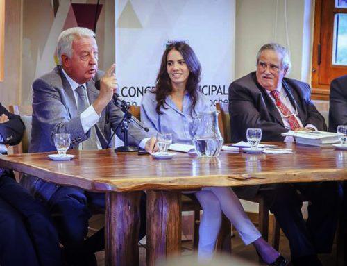 Bulit Goñi en el Concejo Deliberante de Bariloche